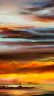 Sunset-Hula