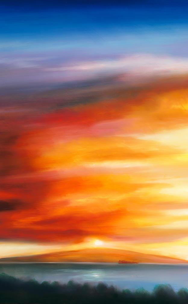 Sun Over kahoolawe