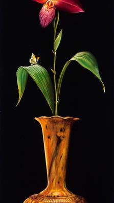 Petali Rossi 23' x 9' - oil on koa