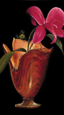 Romantic Night 13' x 10' - oil on koa