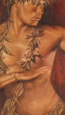 Kanani soul mate-soulmate - oil on koa