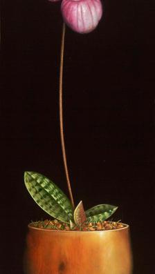 From the Garden of Eden 23' x 9' oil on koa