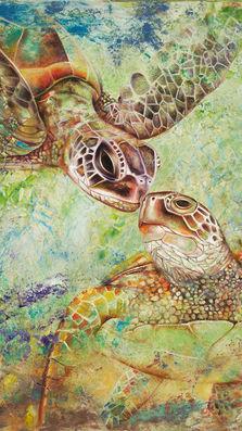 Turtle Kiss abst