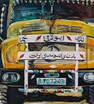 Yellow arab truck, 2003