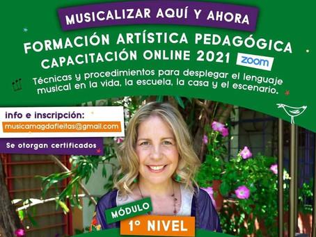 ¡Formación Virtual en Musicalización con Magdalena Fleitas!