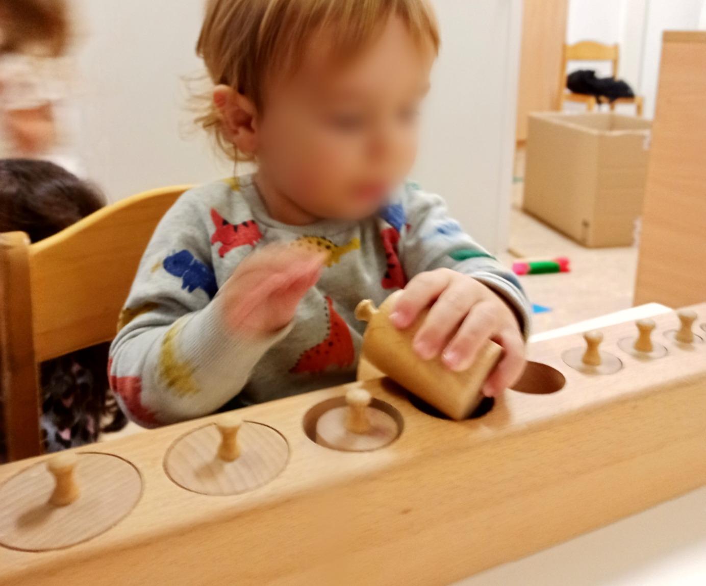 Niño Montessori Guardería Viena