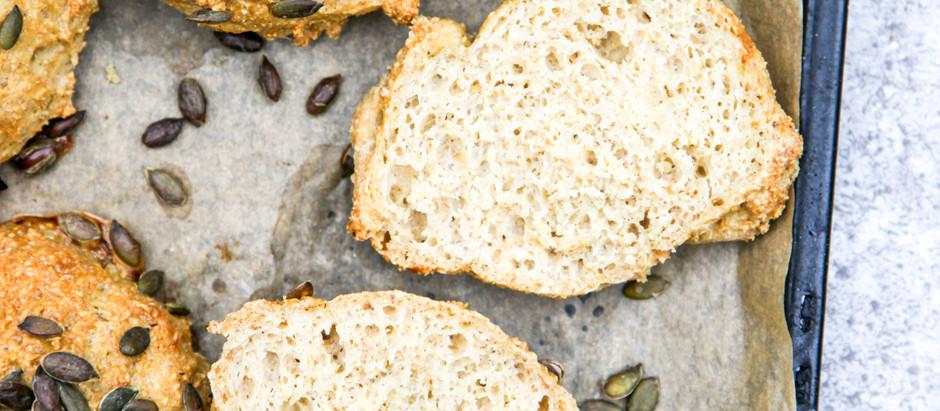 Fantastiske glutenfri boller - perfekt til sandwich