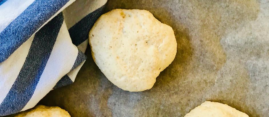 Opskrift under afprøvning - glutenfri surdejsboller