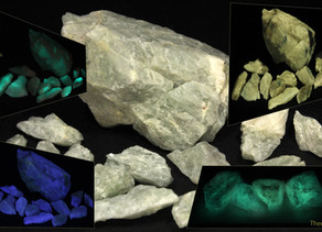 Fluo-Phos-Therm Fluorite from the Globe Mine (Rio Arriba)