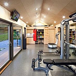 Projet virtuel de salle de sport privée à domicile : espace forme optimisé avec appareils adaptés