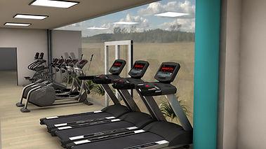 Projet virtuel de salle de sport sur mesure Creafit à la Roche sur Yon