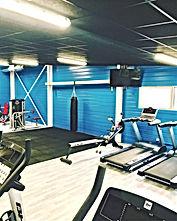 projet aménagement de salle de sport en entreprise Creafit : salle équipée après travaux