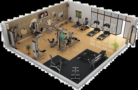 salle de sport en entreprise _ bien-être