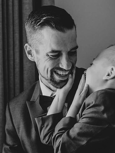 Men always think the wedding day photos