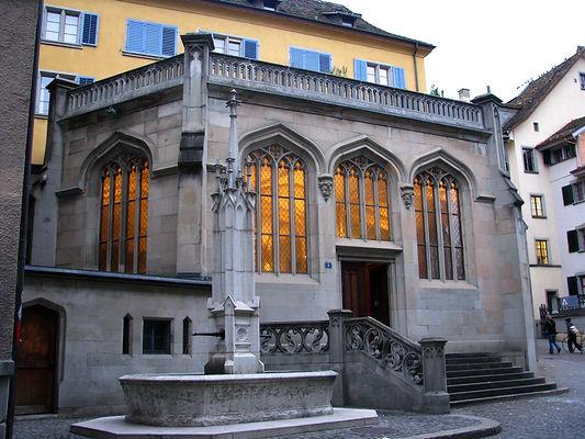 Zürich_-_Grossmünster_-_Kapelle_Helferei