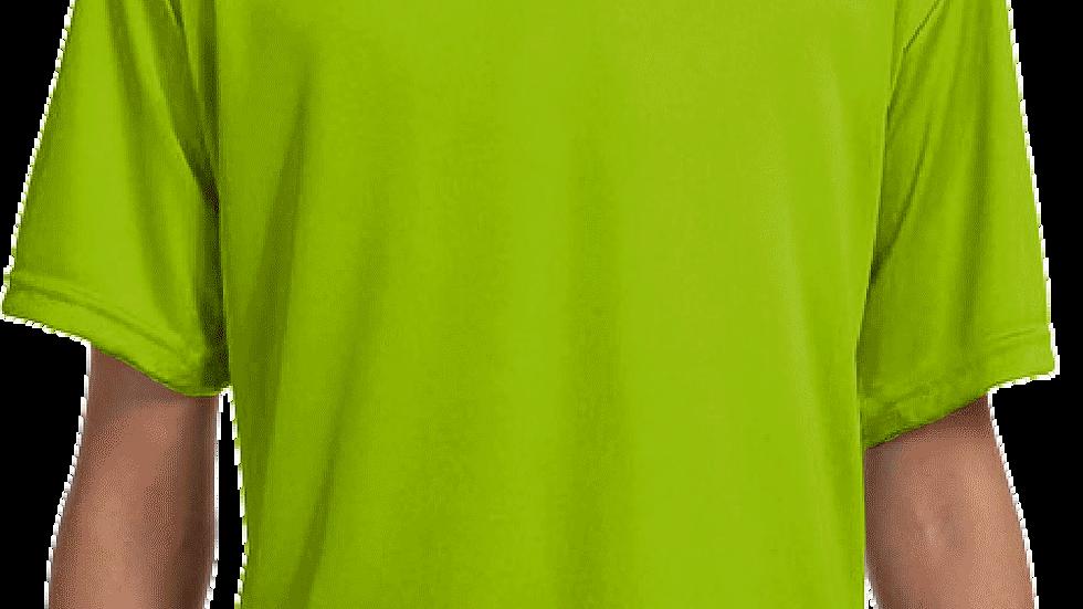 Lime Green Performance TECH T-Shirt