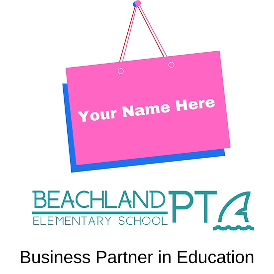 Business Banner on fence. Recognition on our website and social media.