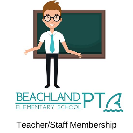 Teacher/Staff PTA Membership