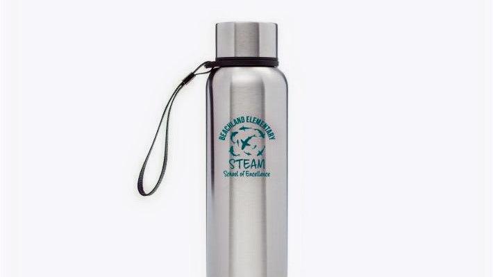 17oz Water Bottle - Stainless Steel