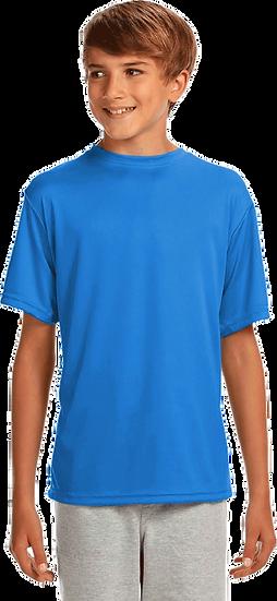 Electric Blue Performance TECH T-Shirt