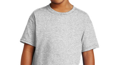Ash Grey COTTON T-Shirt