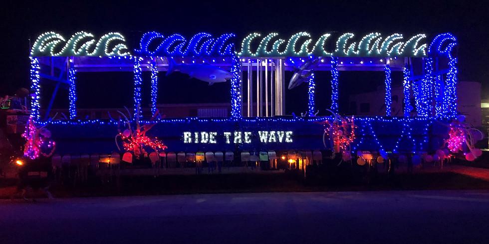 Beachland's Holiday Float 2020-21