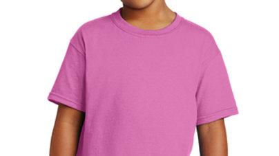 Azalea Pink COTTON T-Shirt