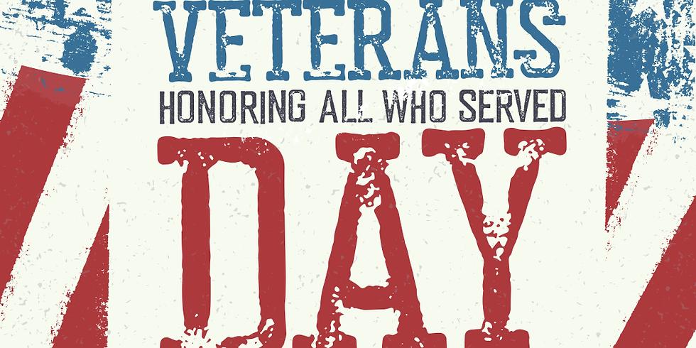 School Closed-Veteran's Day