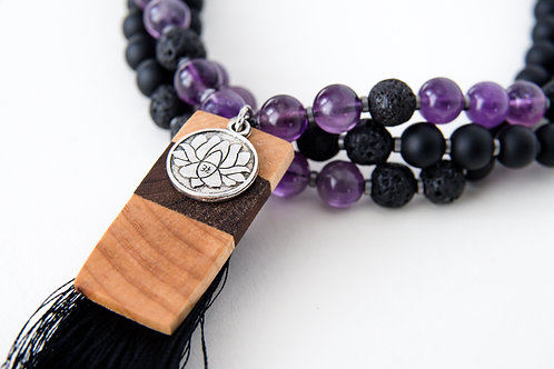 mala beads, yoga products, mantra meditation, meditation products, 108, Ganesh mala beads, amethyst mala beads, lotus mala
