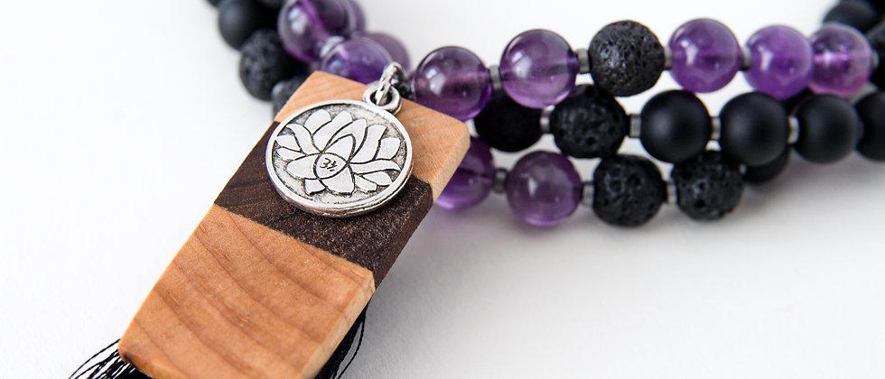mala beads, yoga products, mantra meditation, meditation products, 108, Ganesh mala beads, amethyst mala beads, lotus mala