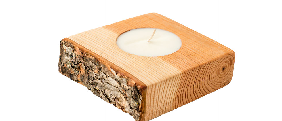 live edge candles, wood slab candles, natural candles, soy wax candles scented with essential oils, soy wax candles, salvaged