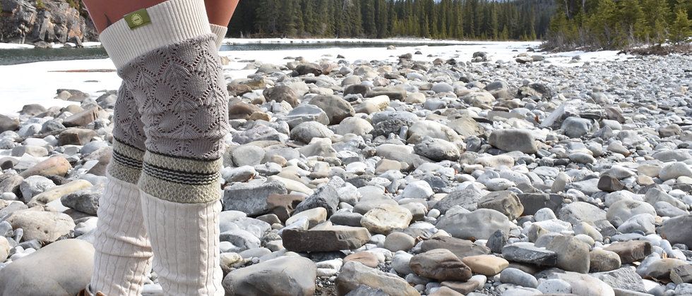 Custom thigh-high Leg Warmers