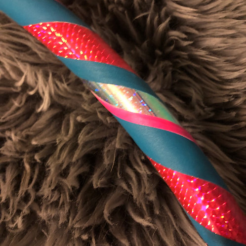 'Unicornika' weighted fitness hula hoop