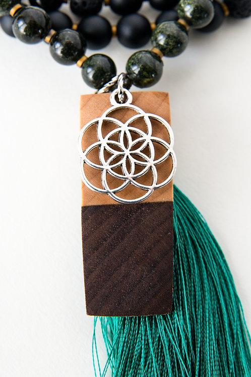 Threefold Mala Beads