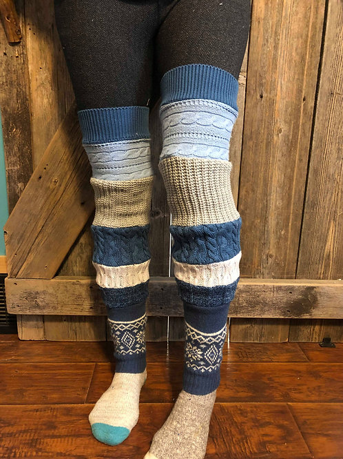 Blues Leg Warmers