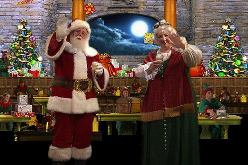 Santas Workshop Elves Toy Factory DVD