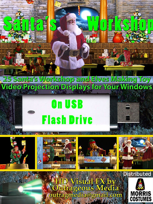 Santas Workshop on USB Flashdrive