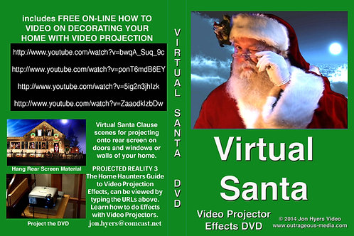 Original Virtual Santa DVD