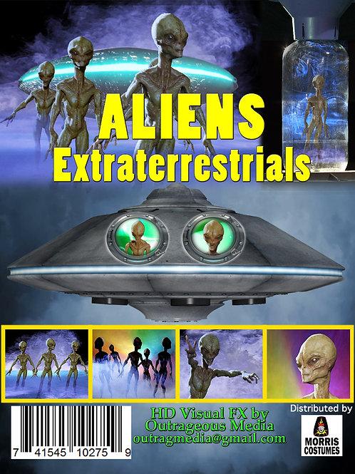 Aliens Extraterrestrial USB THUMB DRIVE