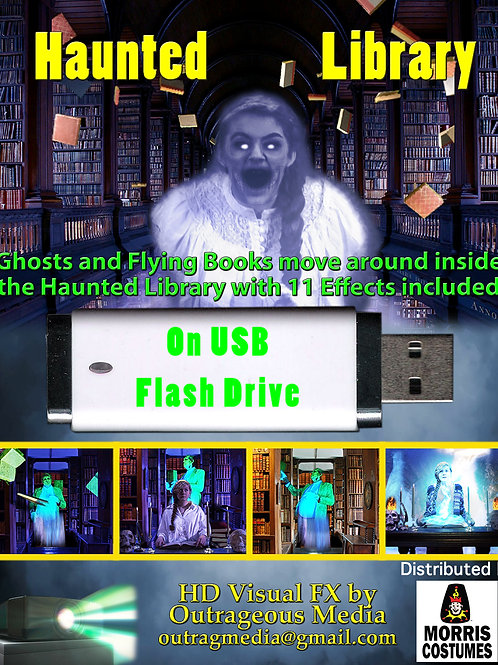 Haunted Library on USB Flashdrive