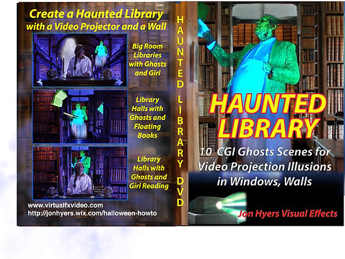Haunted Library on DVD