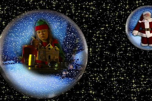 Christmas SnowGlobes Animation DVD