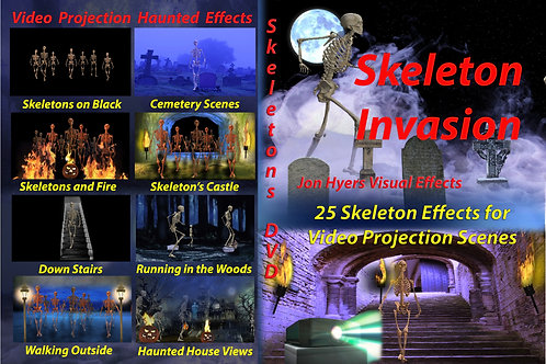 Skelton Invasion DVD
