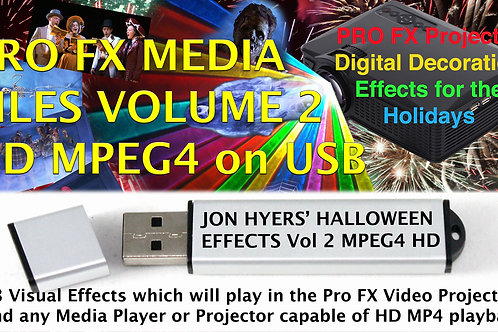 Jon Hyers Halloween USB Drive Volume 2, aka for Pro FX