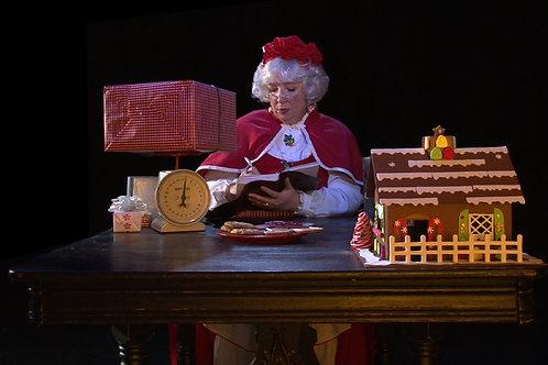 Mrs Santa and Santa Scenes DVD