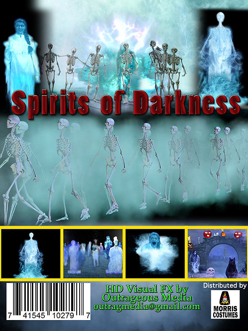 Spirits of Darkness - USB THUMB DRIVE HD