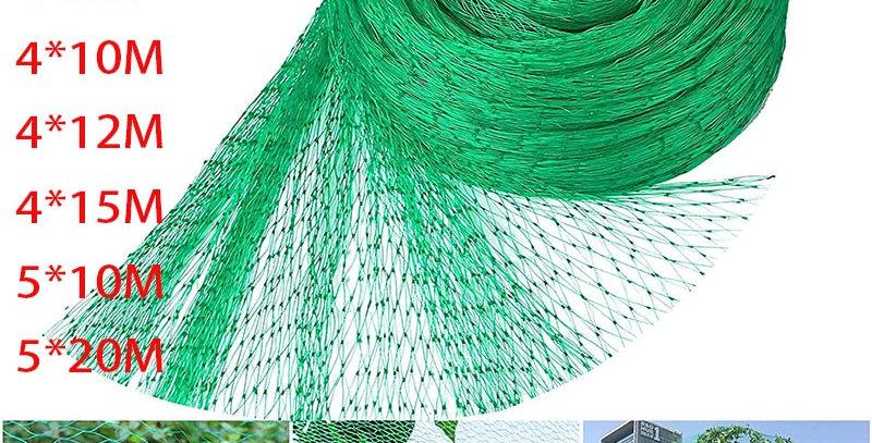 Green Anti Bird Protection Net Mesh Garden Plant Netting Protect Plants