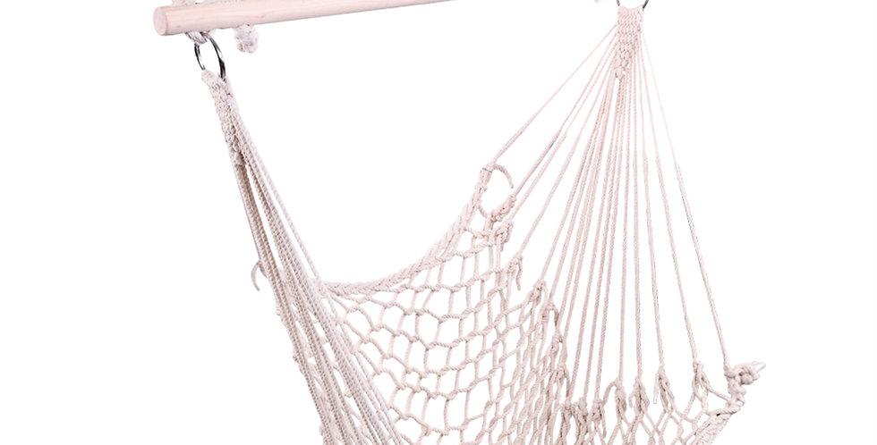 Hanging Rope Air/Sky Chair Swing beige