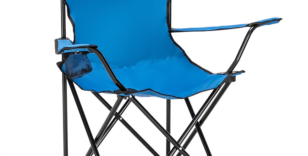 Small Camp Chair 80x50x50 Blue