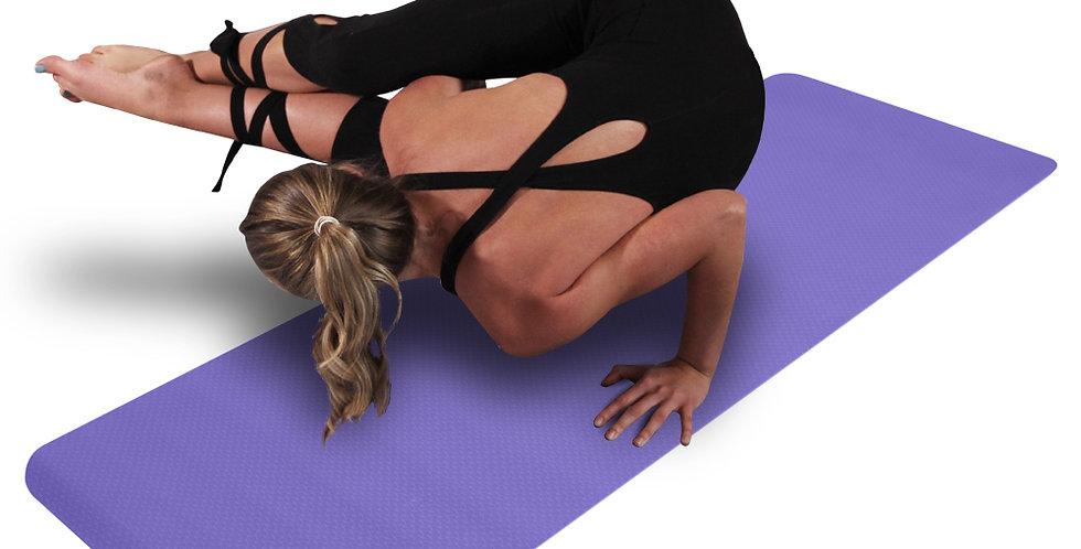 6mm Thick TPE Non-Slip Yoga Mat/Gym Mat